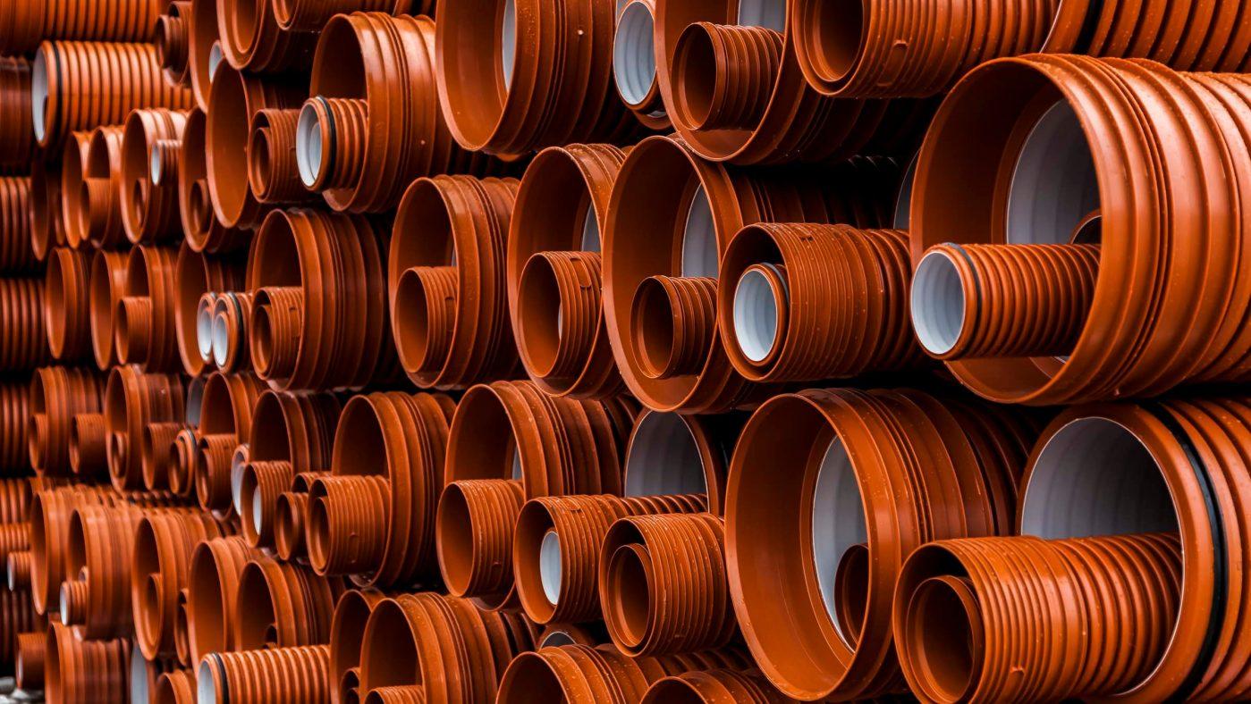 Plastic pipe & fittings